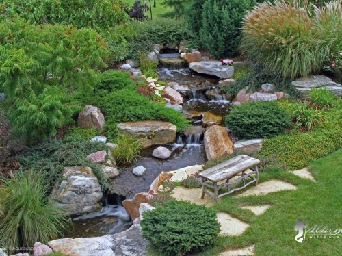 pondless waterfall pictures atlantis water gardens denville nj