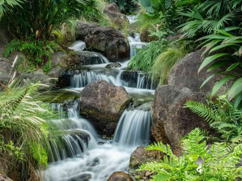 gorgeous pondless waterfall by atlantis water gardens