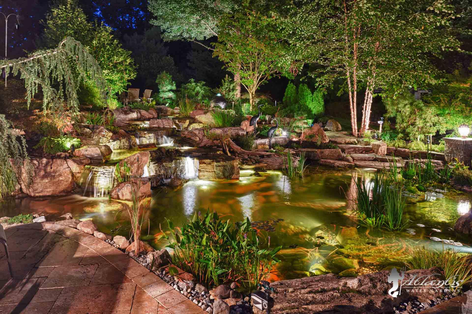Koi Ponds by Atlantis Water Gardens - Denville NJ